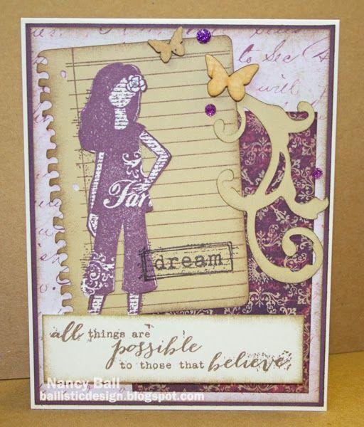"Nancy's CRAFTY blog: Are you a ""Dreamer""?"