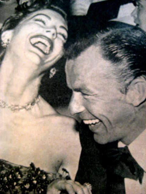 laughing...good for the soul - Ava Gardner and Frankie. …