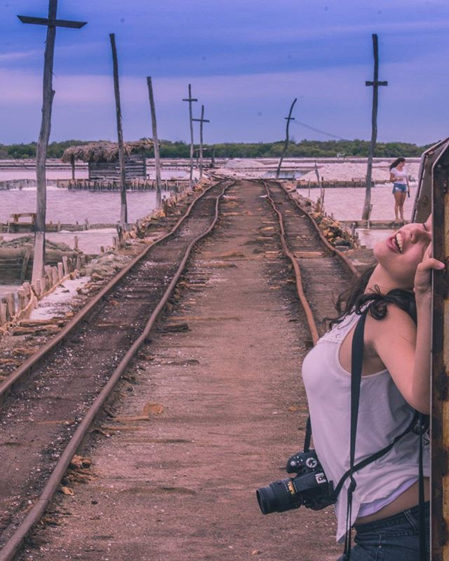 Odette : the perks of being white with ass... Model @odette_mejia ... #bani  #salinas #republicadominicana #photographyclass #photography #classmate #poster #portrait #dramatic #likeamovie #canon #75-300mm #nikon #tracks #traintracks #salt #cross #saltmine #mine #minerals #water #pink #sexy #session #15minutesoffame #montereylocals #salinaslocals- posted by Sebastian Sanchez https://www.instagram.com/sebastiansanchezs4 - See more of Salinas, CA at http://salinaslocals.com
