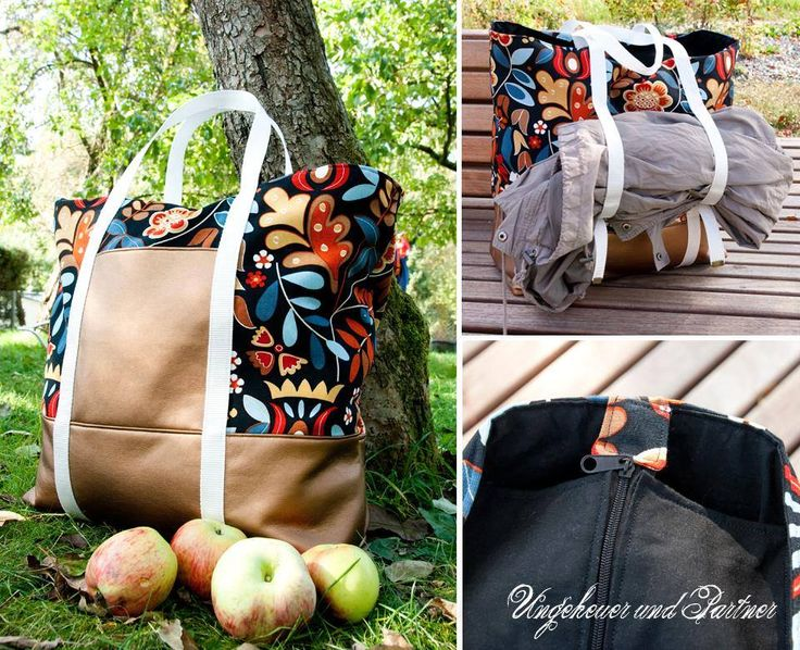 "Eine wunderbare Tasche ""Svea"": http://www.kreativlaborberlin.de/naehanleitungen-schnittmuster/handtasche-svea/"