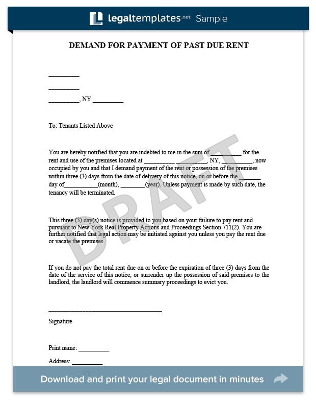 17 best Legal Document Samples images on Pinterest Templates - letter of eviction notice