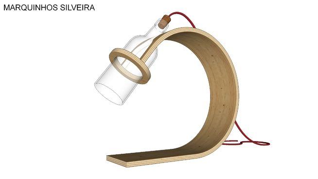 Quercus desk lamp_Model by Marquinhos Silveira - 3D Warehouse