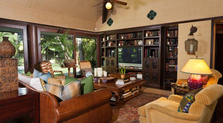 Dual purpose: lounge/study area