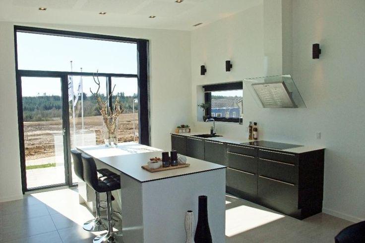Classic+ vinduer fra PRO TEC nyt prøvehus fra KFS Boligbyg