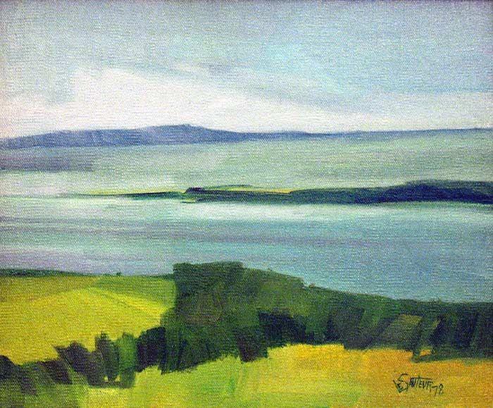_ARCH_ La Pointe de l'île par Claude Le Sauteur - Galerie Lamoureux ...