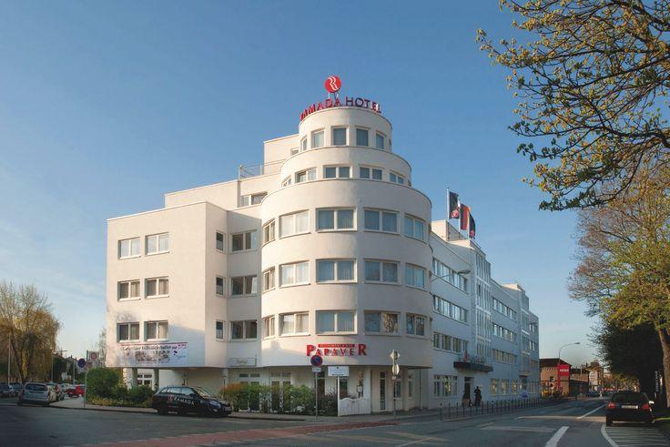 Außenansicht vom H+ Hotel Darmstadt