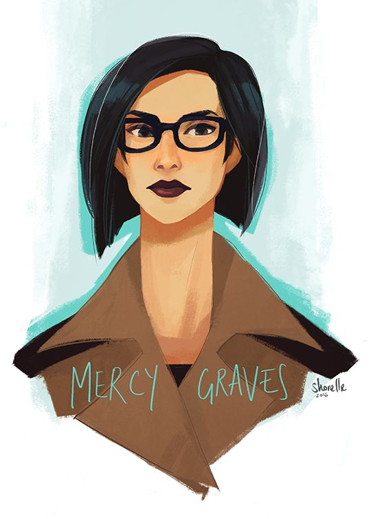 Mercy Graves + her sweet new coat from one of the BvS extended scenes :') honestly, who do I have to petition for Mercy to come back in Justice League 2k17 ಠ_ಠ