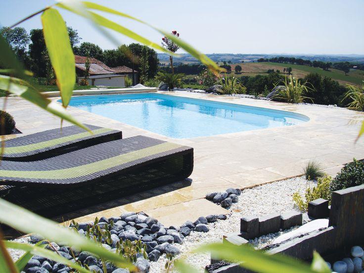 18 best piscine et pierre naturelle images on pinterest. Black Bedroom Furniture Sets. Home Design Ideas