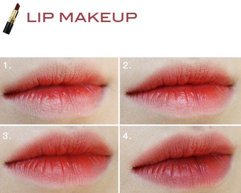 #oligodang #cosmetic #makeup #K-beauty #lip 올리고당 메이크업 레드립스틱 바비브라운 립 칼라 번트레드