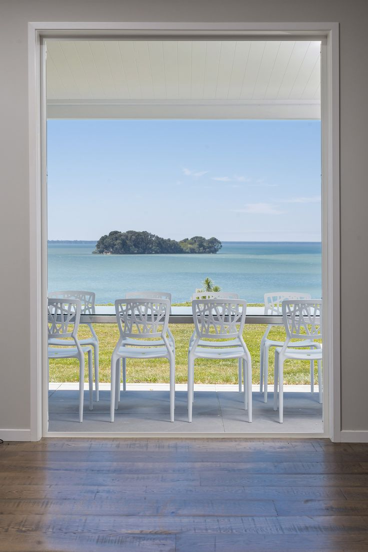 The perfect place for the dining table. From one of our homes in Tauranga.