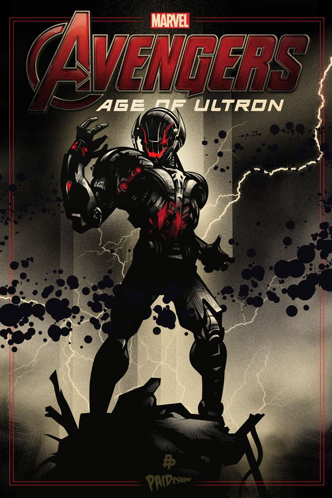 """Avengers - Age of Ultron - Paul Ainsworth ---- Phase 3 Of Our Tribute To Marvel's """"Avengers: Age Of Ultron"""" Begins With """"Daddy Issues"""" (2015-04)"""