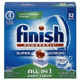 #7: Finish All in 1 Powerball Fresh 32 Tabs Automatic Dishwasher Detergent Tablets