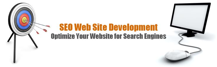 SEO Web Site Development - Optimize Your Website for Search Engines;  The purpose of search engine optimization in websites is to get top placement in the result pages of major search engines.
