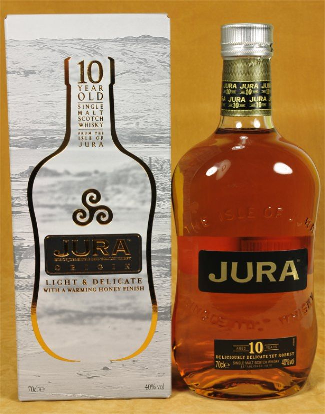 Isle of Jura Whisky 10 y.o.