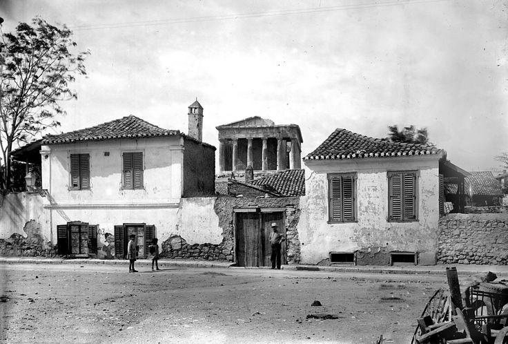 ΘΗΣΕΙΟ 1928 περιοχή βρυσάκη πρίν τις ανασκαφές φωτ. Gabriel Welter