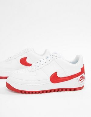 da278127b4b Nike White And Red Air Force 1 Jester Xx Trainers | clothing in 2018 ...