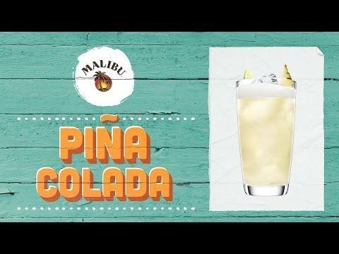 Pina Colada Recipe - MALIBU RUM