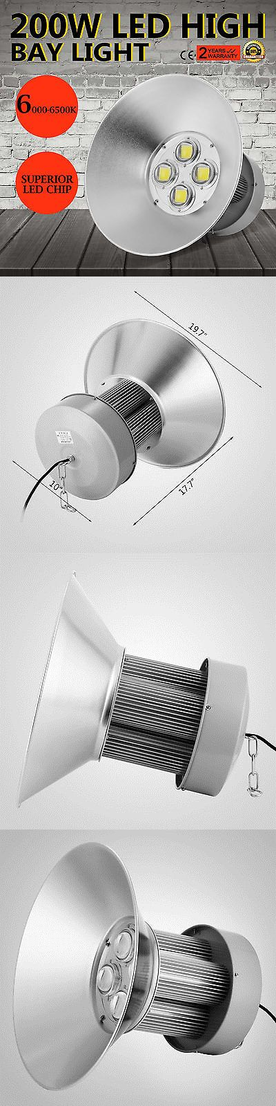 materials: 200W Watt Led High Bay Light Bright White Lamp Lighting Fixture Factory Industry -> BUY IT NOW ONLY: $93.78 on eBay!