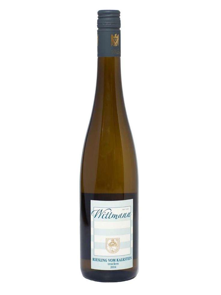 Wittmann kalkstein riesling trocken hvitvin tyskland 075 l - Tax-free.no