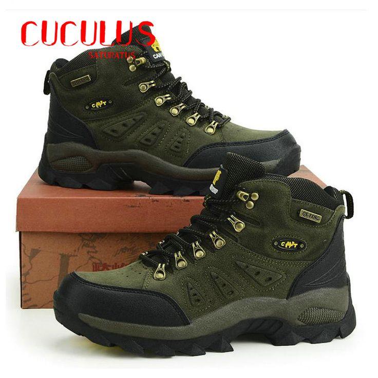 Походная обувь мужчина Бренд мужской кроссовки противоскольжения альпинизм сапоги на открытом воздухе спортивная дышащий мужчины водонепроницаемый #jewelry, #women, #men, #hats, #watches