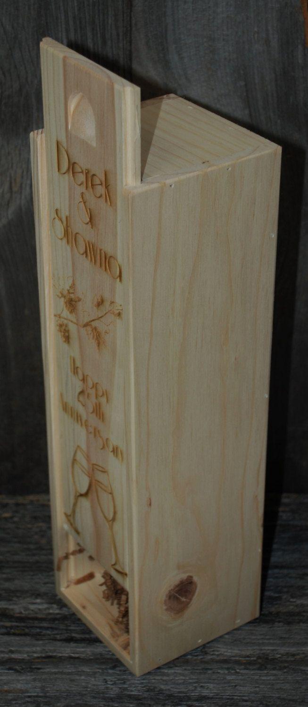 Wedding Engraved Wine Box, Groomsmen gifts, Wedding party gifts, Engraved wedding gifts by MemoriesMadeToronto on Etsy