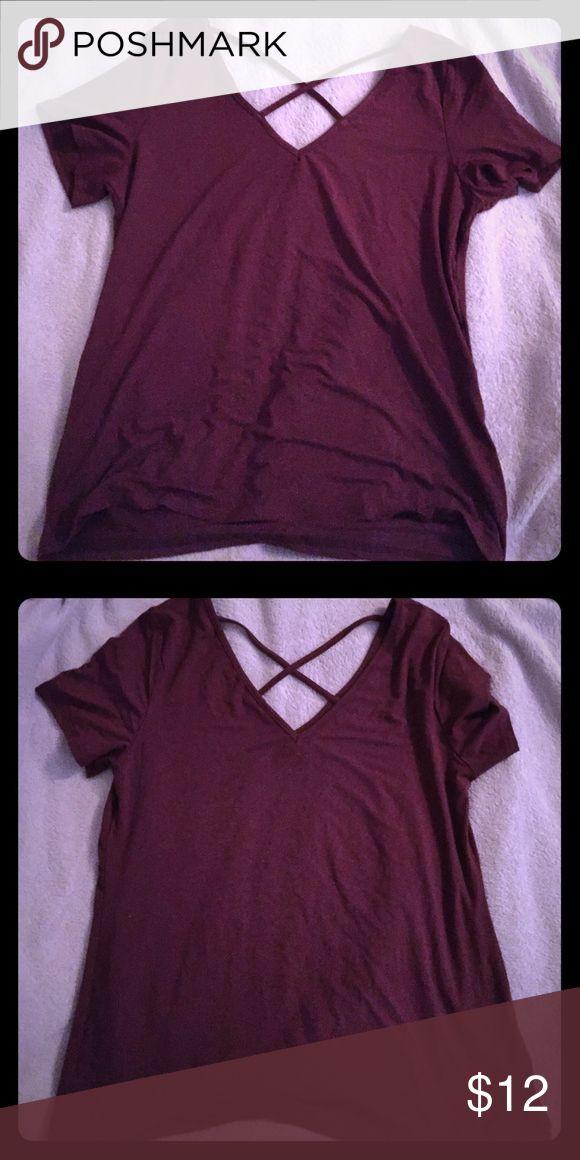 Purple tee Size L Tops Tees - Short Sleeve
