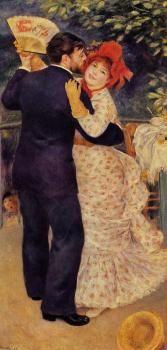 Country Dance - Pierre Auguste Renoir - The Athenaeum