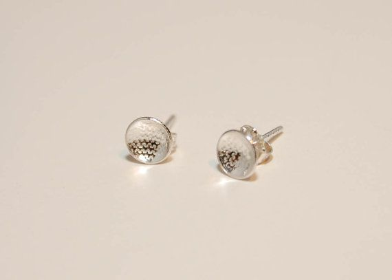 Teeny tiny sterling post earrings by tiffanycoley on Etsy, $26.00