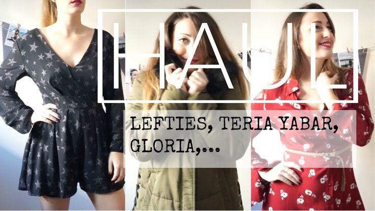 SUPER HAUL REBAJAS 2018 (Try On) - Zara, Lefties, Teria Yabar,...  Lorena Gil - YouTube