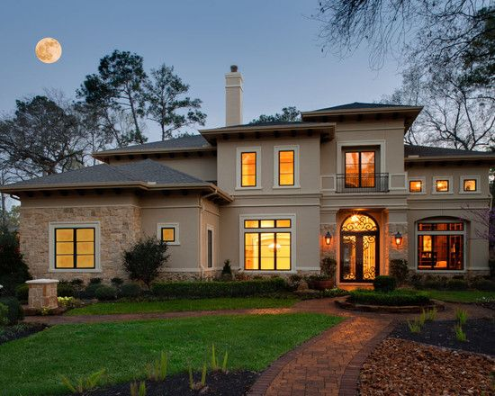 Traditional Exterior Ranch Homes +hip Roof Design, Pictures, Remodel, Decor and Ideas - page 4