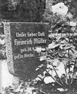 """Müller, Heinrich """"Gestapo Müller"""" - WW2 Gravestone"""