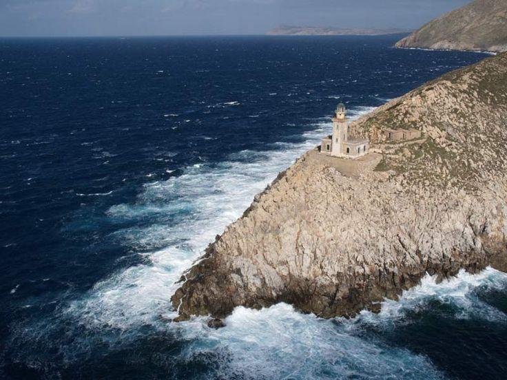 Lighthouse -Cape Tenaro  - Greece