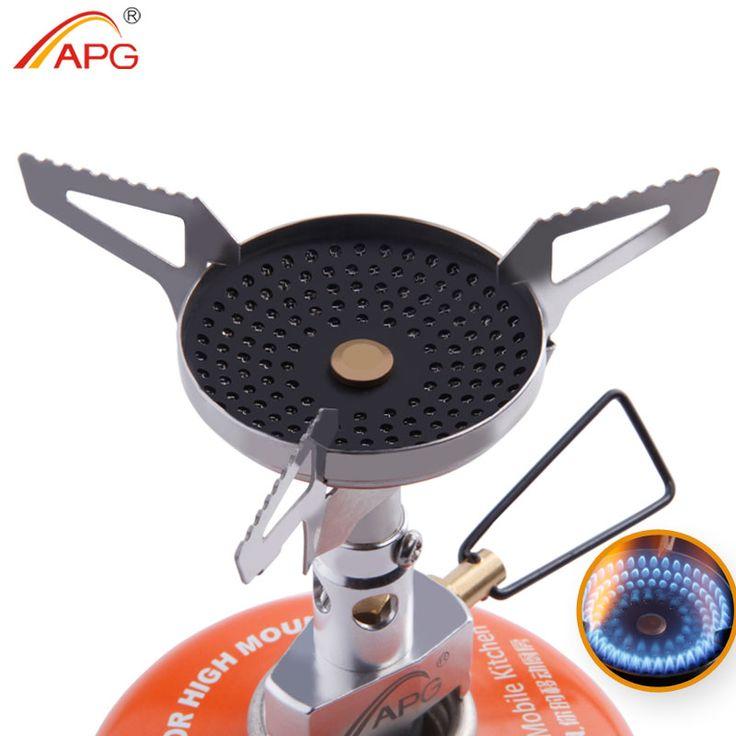 APG Ao Ar Livre Anti-queimadura Portátil Fogões A Gás Melhor Mini Camping Equipamentos De Cozinha