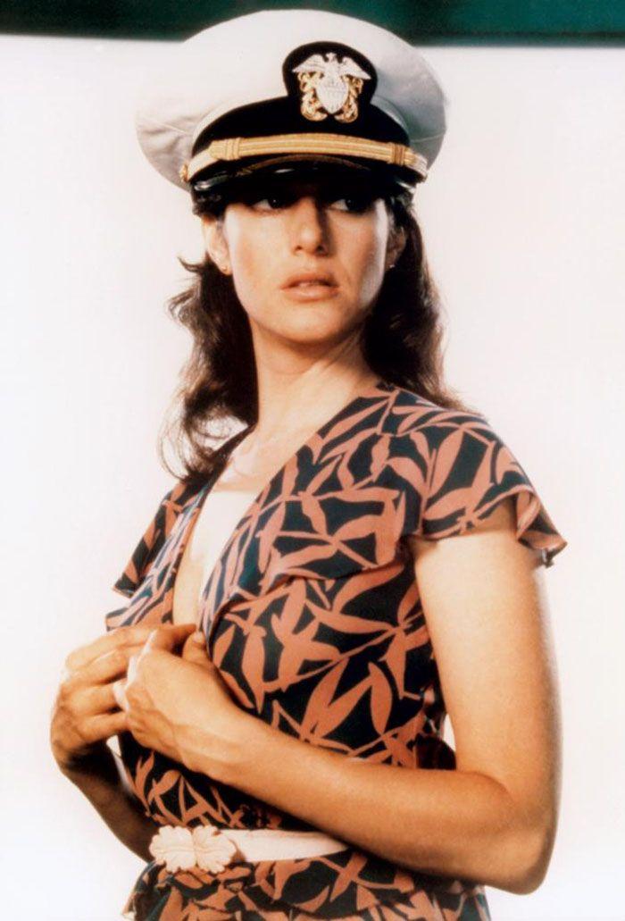 "Debra Winger en""Oficial y Caballero"" (An Officer and a Gentleman), 1982"