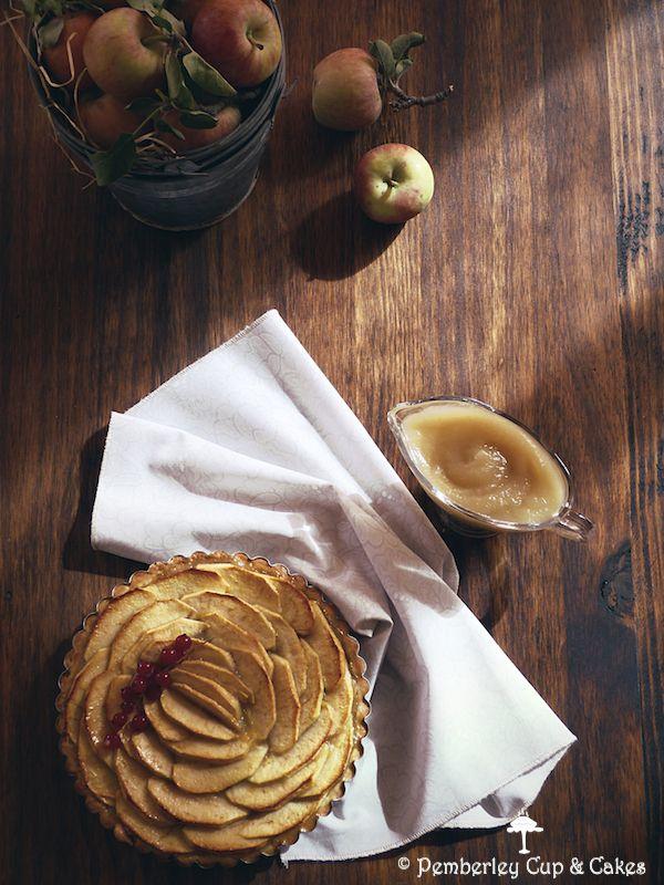 Tarta de Manzana Francesa {French Apple Tart}