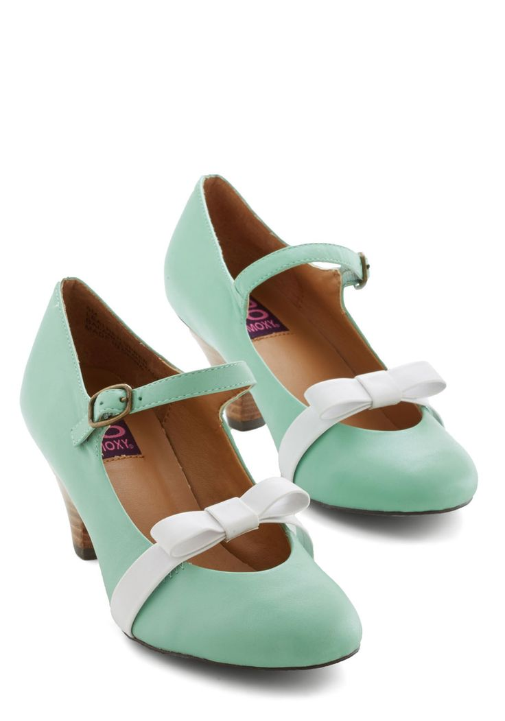 Nothing Short of Sweet Heel in Mint, #ModCloth