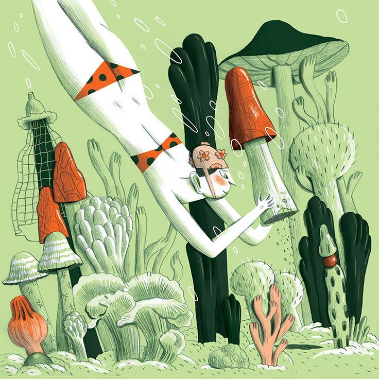 Noam Weiner > Telavivian Illustrators - Itay Blaish