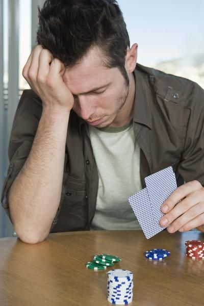A gambling addiction can have serious consequences.