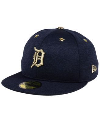 New Era Detroit Tigers 2017 All Star Game Patch 59FIFTY Cap - Blue 7 3/8