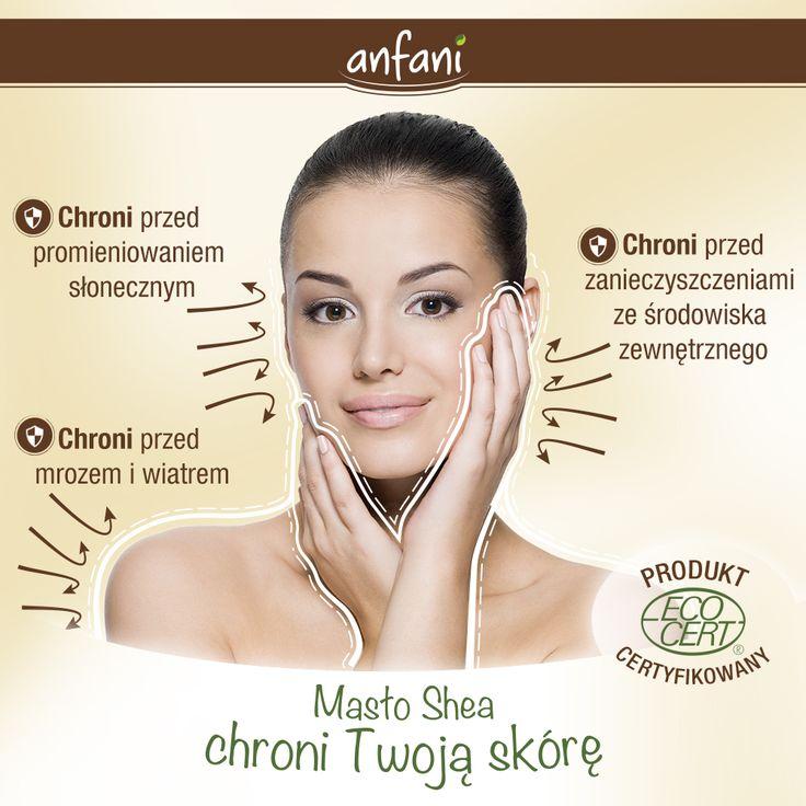 Masło Shea chroni Twoją skórę: • chroni przed promieniowaniem słonecznym • chroni przed zanieczyszczeniami ze środowiska zewnętrznego • chroni przed mrozem i wiatrem  www.anfani.pl  #maslo_shea #maslo_karite #maslo_shea_nierafinowane #maslo_shea_na_twarz