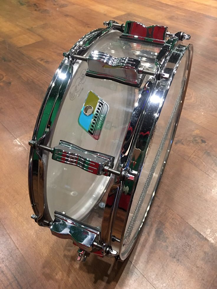 Ludwig Vistalite 80's Acrylic 14x5 パワフルで音抜けの良いアクリルならではのサウンド!サウンドスタジオノア中野店 03-5318-4110 #drum #music #studionoah #ドラム #スネア #Ludwig
