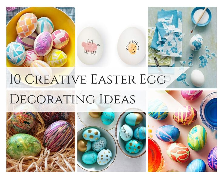 10 creative easter egg decorating ideas Creative easter egg decorating ideas