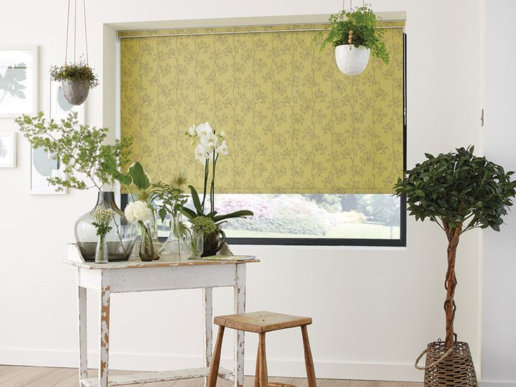 Bring nature indoors with the beautiful Ayana Pistachio Roller Blind #HomeDecor