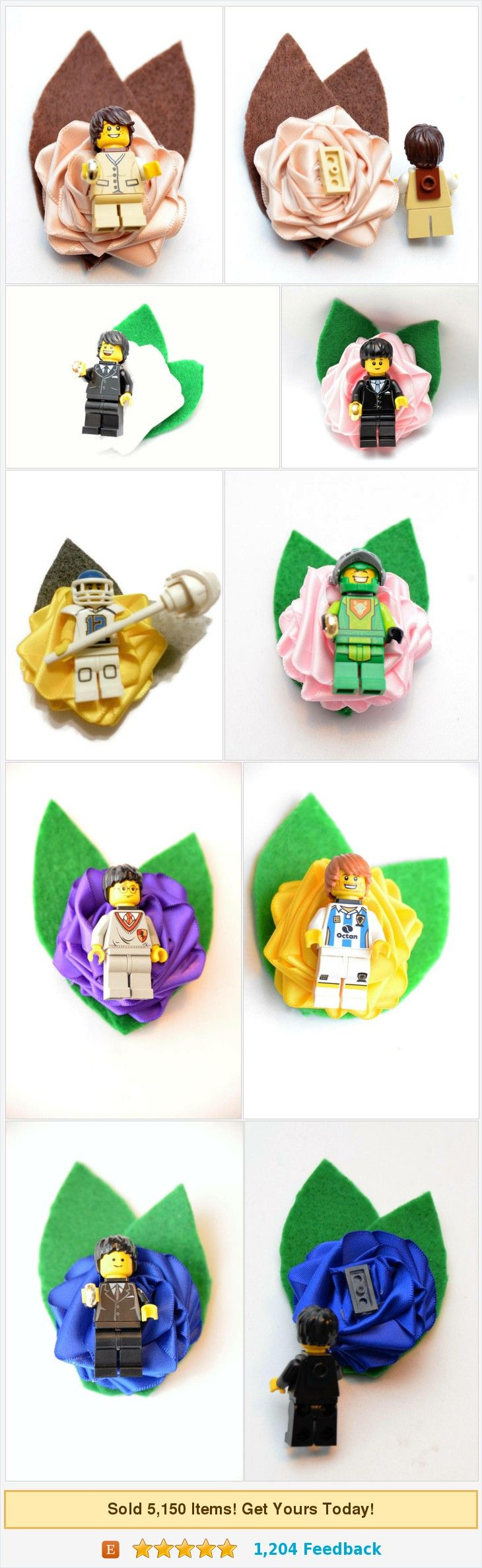 Custom Wedding Geek Nerd Brick Style Boutonniere ~ Pick a Hero Or Custom Minifig ~ Comic Or Sci Fi Style ~ Customize Pick your Hero https://www.etsy.com/DivinityBraid/listing/539636547/custom-wedding-geek-nerd-brick-style?ref=shop_home_active_4
