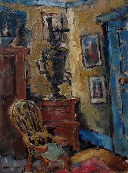 Alexander Rose-Innes (1915-1996) - Interior Scene