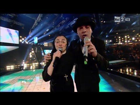 """http://bit.ly/1uGNt2Z   #suorcristina   Suor Cristina con J-Ax cantano """"Gli anni"""" - Finale - The Voice Of Italy 2014 - YouTube"""