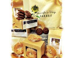 Fabulous reviews. Gluten free. Jennifer's Way Bakery, in NYC. Can order online. Yum!!