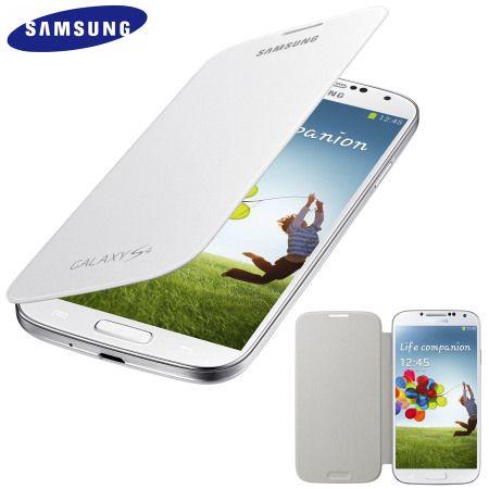 Cover flip originale per Samsung Galaxy S4