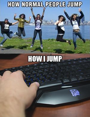 This is how we jump! #GamingLife #Gamer #TteSPORTS