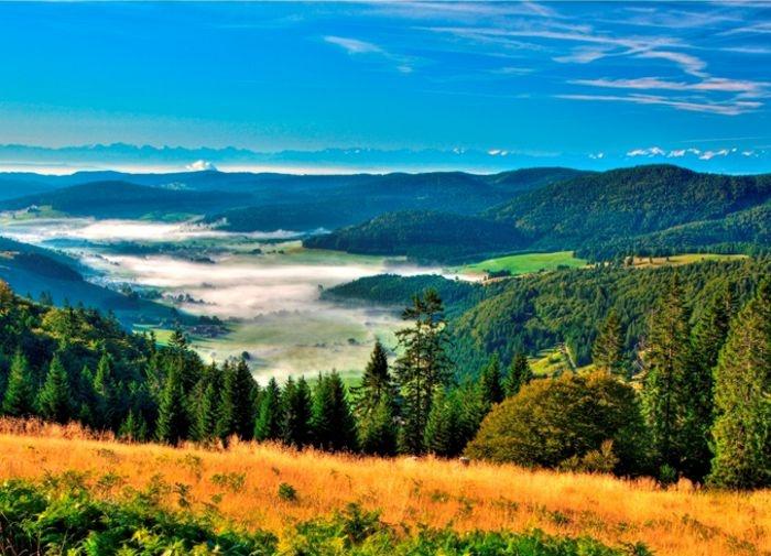 Schwarzwald: das Bernauer Hochtal im Südschwarzwald, südlich vom Feldberg und westlich vom Schluchsee